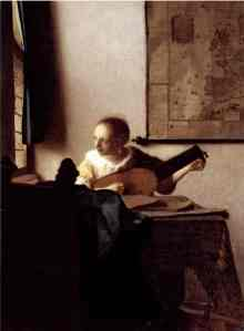 Vermeer, Woman with a Lute