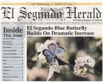 El Segundo Blue cover El Segundo Herald
