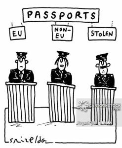 Passports: EU, Non-EU, Stolen.