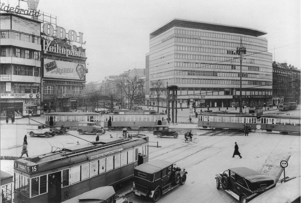 Potsdamer Platz Berlin 1932
