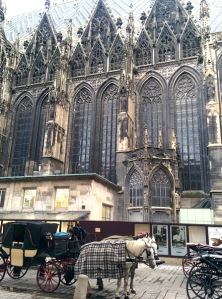 vienna_stephansdom&fiakers