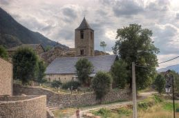 St. Joan, Vall de Boi, Catalunya, ca. 1120.