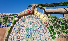 Watts Towers, detail