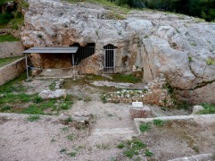 Sanctuary of Pan, near Pnyx, on Apostolou Pavlou