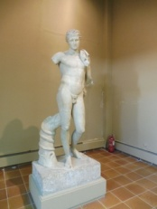 Andros's famous Hermes sculpture.