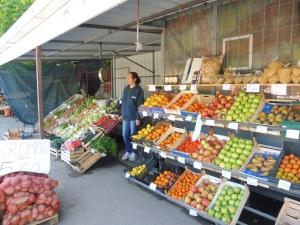 One of the Bosnian markets.