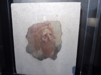 a fragment of Roman painting.