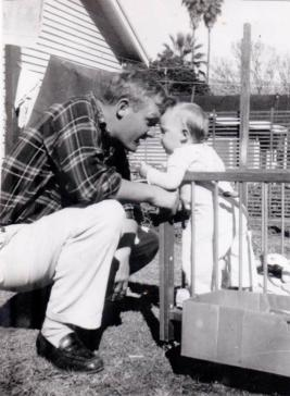Rudy & me, Santa Barbara, 1949-50