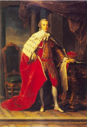 3rd Duke of Roxburghe by Batoni National Portrait Gallery of Scotland