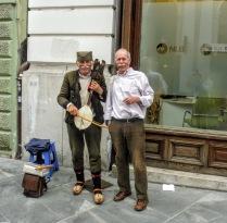 The mustachioed street musicians, Ljubljana, Slovenia