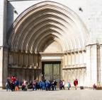 At Girona Cathedral, Spain.