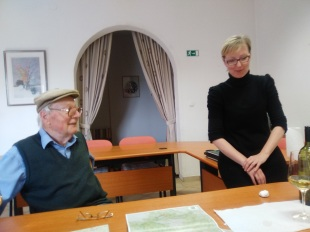 Herr Tisler and his daughter Barbara, Markovec, Slovenia