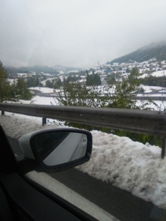 SNOW in Slovenia on April 28!