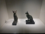 These Egyptian cats are more like it.