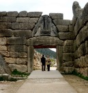 Lion Gate, Mycenae, 13th century B.C.