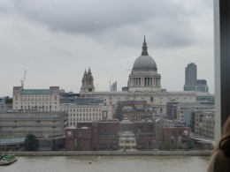 View on the Thames to St. Paul's