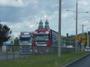 Trucks in Poland