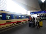 A regional train in Vienna.