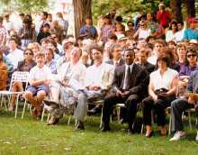 At our citizenship ceremony, Canberra, 26 January (Australia Day), 1993