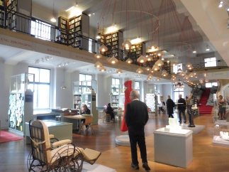 The Reading Room of the Wellcome Library