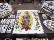 Tiles for sale in Tlaquepaque.