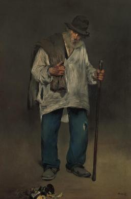 Manet, The Ragpicker, 1865-70, The Norton Simon Museum.