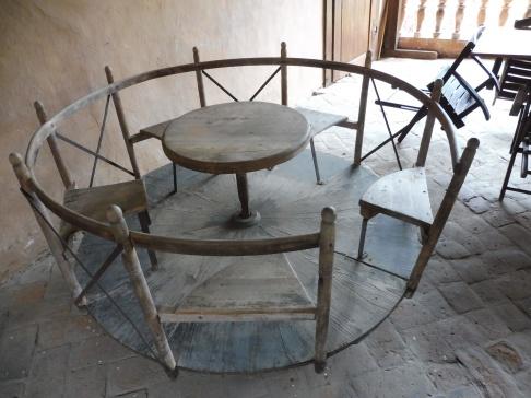 An 18th-century merry-go-round