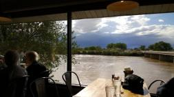 View of the Green River from The Tamarisk Restaurant