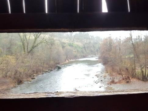 View from Honey Run Bridge.
