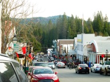 Broad Street, Nevada City, today.