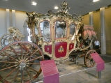 One of the Baroque carriages Maximilian had transported to Mexico.