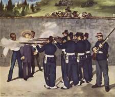 Edouard Manet, The Execution of Emperor Maximilian, 1868, Kunsthalle Mannheim.