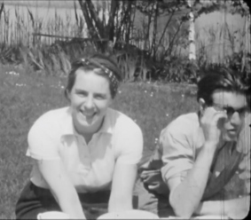 Irmgard and Rex, Berlin 1941 (1)