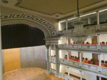 The interior of the Teatro de la Republica