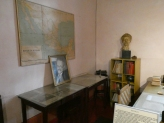 The corner of Trotsky's study