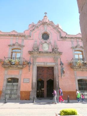 A church facade in Queretaro