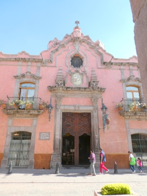 A church facade in Queretaro