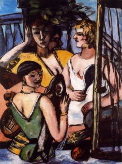 Max Beckmann, Three Sisters, 1935